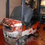Carretilla Toyota a reacondicionar