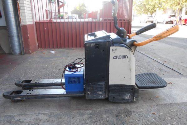 TRANSPALETA ELECTRICA CROWN VEYMACAR